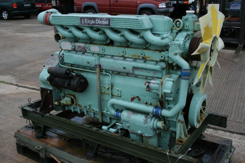 Rolls-Royce Eagle 2914-143, Ex-MOD, Turbo Diesel Generator