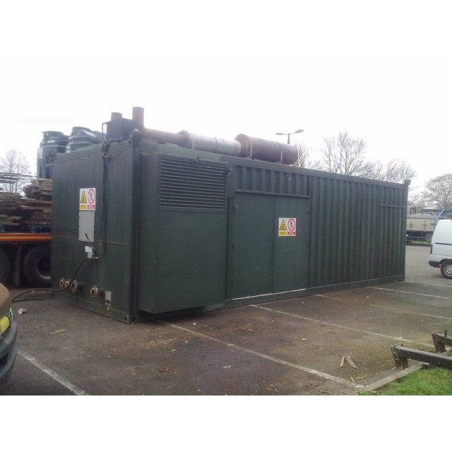 Dorman V16 850 KVA Generator