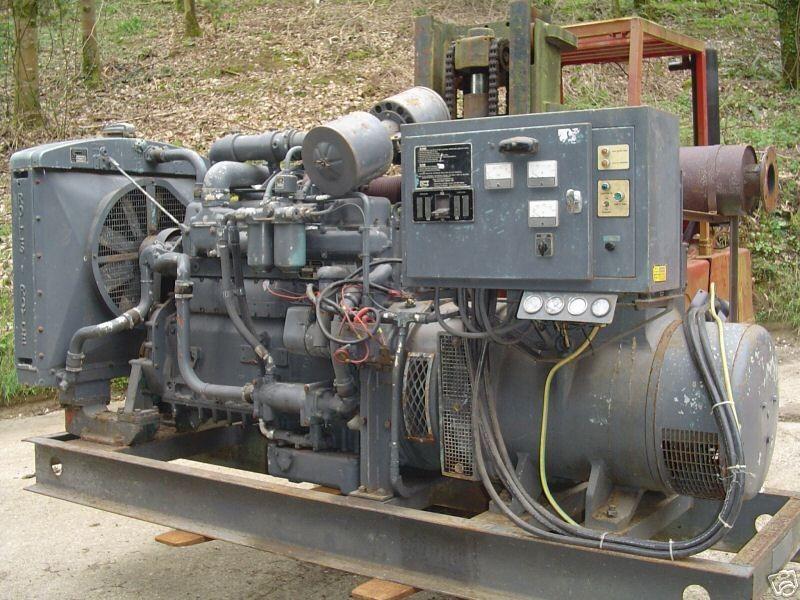 Rolls Royce SF65CT 160 KVA Diesel Generator