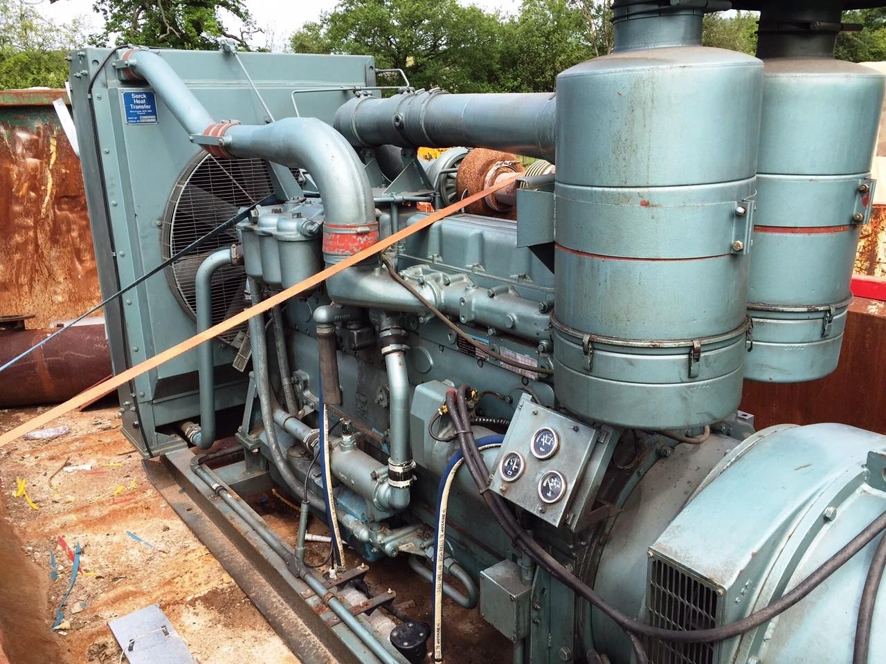Used Rolls Royce 8 cylinder Diesel Generator